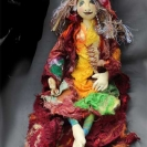 Autumn Witch doll
