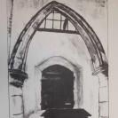 St Bridget's, Skenfrith, lithograph