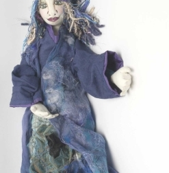 Zaria, Winter Princess, 60cm button joint doll